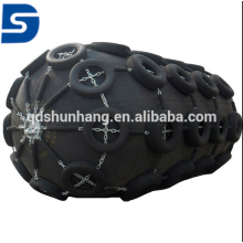 3.3m x 5.5m Marine Pneumatic Rubber Fender with Chain and Tyre Net Made in China